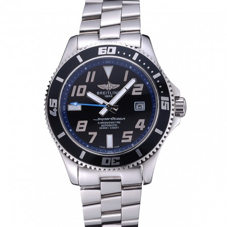 Breitling Superocean 44 Abyss Blue Accents Bracciale in acciaio inossidabile 622.506